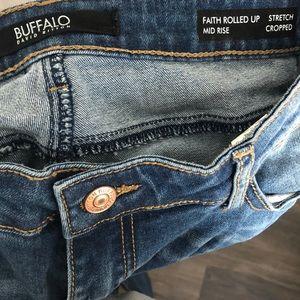 Buffalo David Bitton Jeans - Buffalo distressed cropped jeans